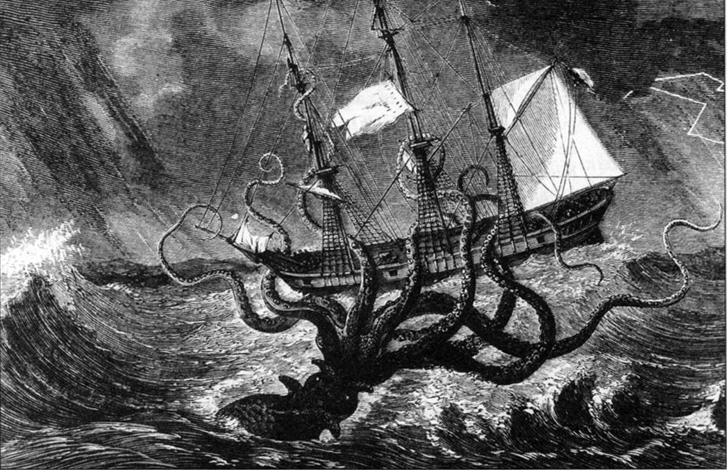 Mity i teorie spiskowe – Morskie stwory