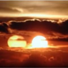 Na niebie pojawiły się dwa słońca! Czy to zwiastun apokalipsy?
