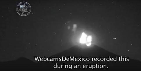 Szokujące nagrania UFO przy wulkanie Popocatepetl! Zobaczcie materiał…