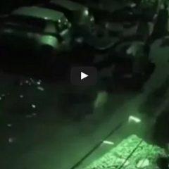 Kamera uchwyciła teleportację mężczyzny!? Zobaczcie zaskakujące nagranie!