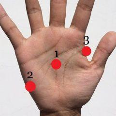 3 niezwykłe punkty na dłoni! Sprawdź jak dzięki nim możesz zmienić swoje życie!