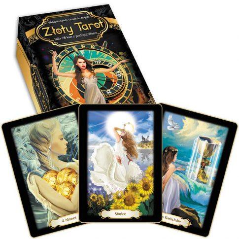 Recenzja kart: Soleil i Magda – Złoty Tarot