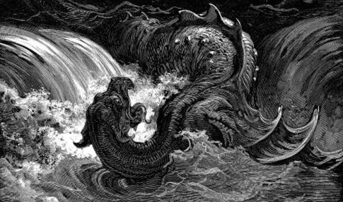 Biblijny wąż Lewiatan to UFO! Kosmici, Apokalipsa i Biblia?
