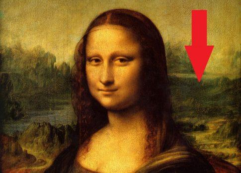 Obraz Mona Lisa zawiera ukryty wizerunek kosmity! Prawda o obrazie Leonarda da Vinci…
