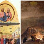 UFO na starych obrazach? Religia i kosmici… Szokujące dzieła sztuki! Zobaczcie zagadkowe nagranie!
