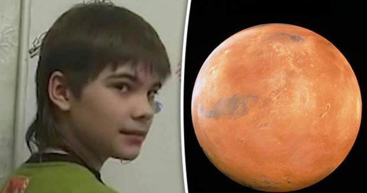 Co naprawdę stało się na Marsie? Tajemnicze dziecko ujawnia prawdę (NAGRANIE)