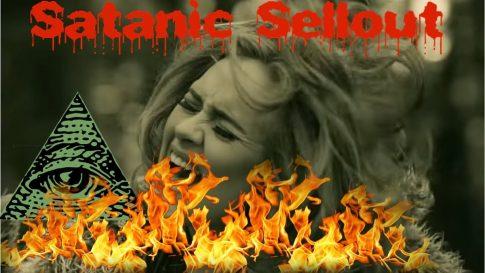 """Adele wyznała prawdę o satanistycznej sekcie Illuminati i Reptilianach? """"Ciągła przemiana mnie wyczerpuje"""""""