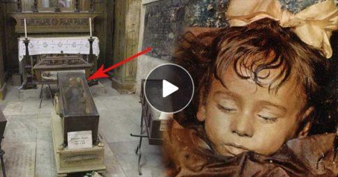 100-letnia mumia dziewczynki ożyła? Sami zobaczcie