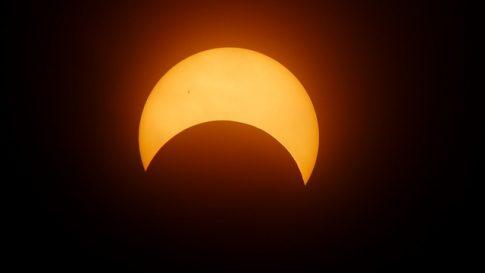 Jak wyglądało Zaćmienie Słońca 2017 z kosmosu? Zobaczcie nagranie!