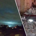 Dziwne światła pojawiły się podczas trzęsienia ziemi w Meksyku! (NAGRANIE)