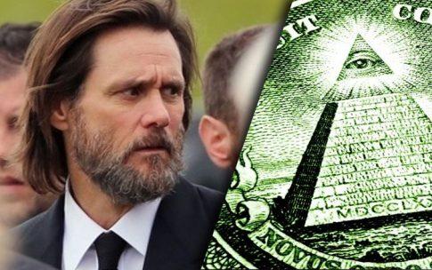 Jim Carrey wyznaje prawdę o sekcie Illuminati! Elity wprowadzają satanistyczny Nowy Porządek Świata? NAGRANIE