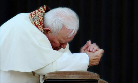 """Przepowiednia Jana Pawła II przeraża! """"Papież zapłakał"""" (NAGRANIE)"""