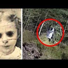 Tajemnica Czarnookich dzieci! W tych lasach uchwycono te dziwne istoty? (NAGRANIE)
