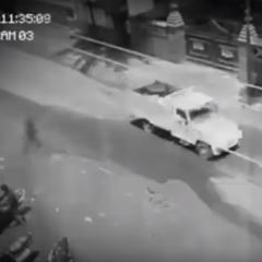 Na Filipinach nagrano ducha przechodzącego przez ulicę?