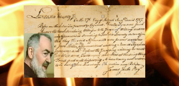 Tajemniczy list Ojca Pio przepowiadający przyszłość. Jego treść szokuje! (NAGRANIE)