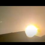 Dziwne zachowanie Słońca nagrane na niebie!