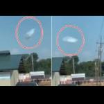 Dziennikarz nagrywa UFO, które przybrało postać Chmury?