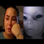 """Piosenkarka Demi Lovato wyznaje: Kosmici są wśród nas. """"Tej nocy ich spotkałam"""" (NAGRANIE)"""