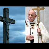 Niezwykła postać nagrana na niebie gdy Papież przemawia! (NAGRANIE)
